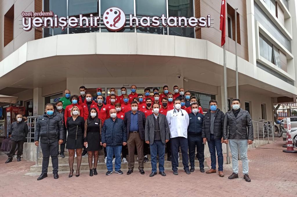 Erdemli Belediyespor, Sağlık Taramasından Geçti